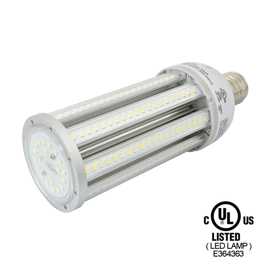 E39 54Watt LED Corn Light Bulb UL Listed - Pure White LED Corn Lamp - Metal Halide Bulbs Replacement
