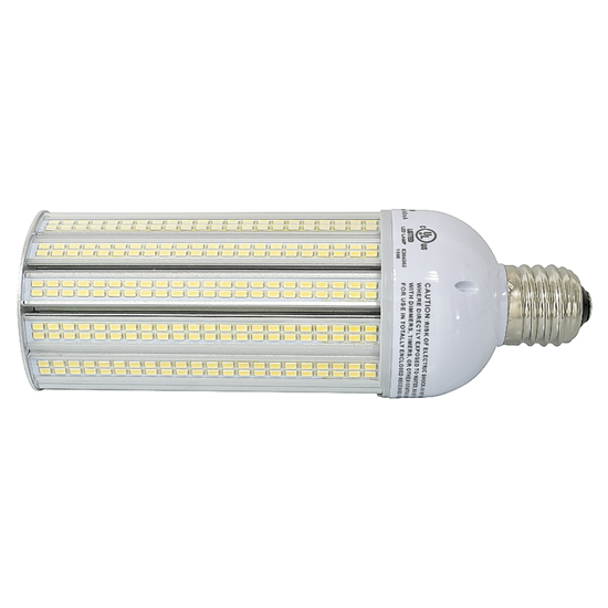 E39 40Watt LED Corn Light Bulb UL Listed - Pure White LED Corn Lamp - Wall Pack Light Replacement