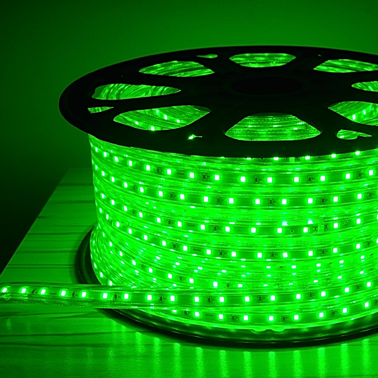 Green Led Rope Light Outdoor Bridge Lighting New