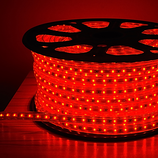 120 Volt Led String Lights : Red LED Rope Light Outdoor Event Lighting Building Decorative Light