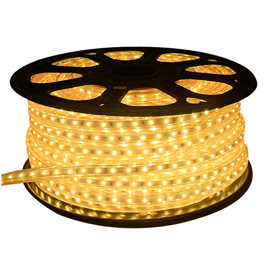 Warm White LED Rope Light | Outdoor Garden Lighting