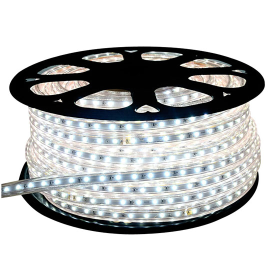 Cool White LED Rope Light | 120V Outdoor Lighting