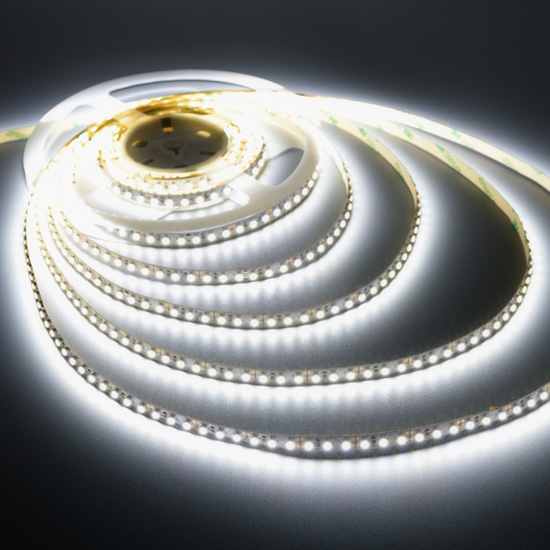 Cool White Flexible LED Strip - 12Volt LED Ribbon Light - 3528 Indoor Non Waterproof Light & Cool White Strip Light | Dining Room Decor | Ribbon Light Wholesale