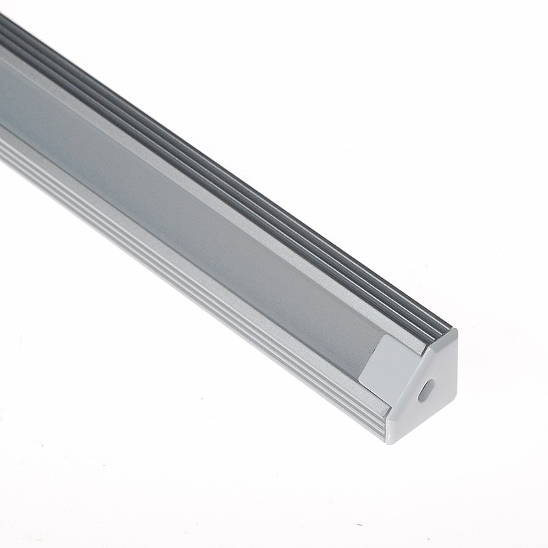 Corner Mount - Aluminum Extrusion Profile LED Strip Fixture Channel - Strip Light Housing