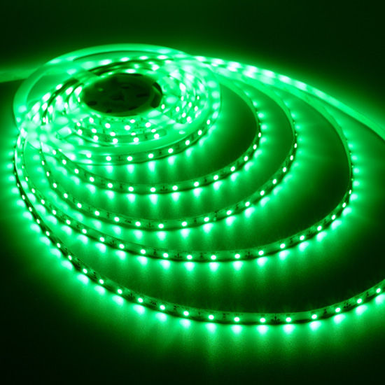 Non waterproof led strip lights under cabinet lighting indoor green flexible led strip light 12volt led tape light 3528 non waterproof light strips aloadofball Choice Image