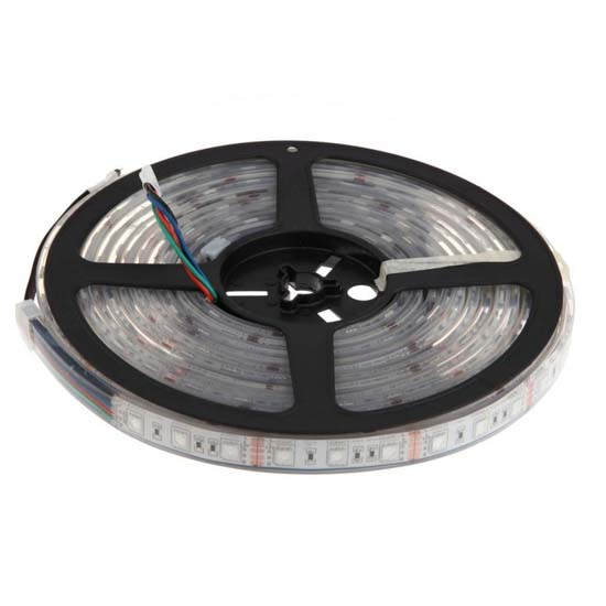 Outdoor Waterproof Solar Led Strip Light Smd 5050 5m: Color Changing Tape Light