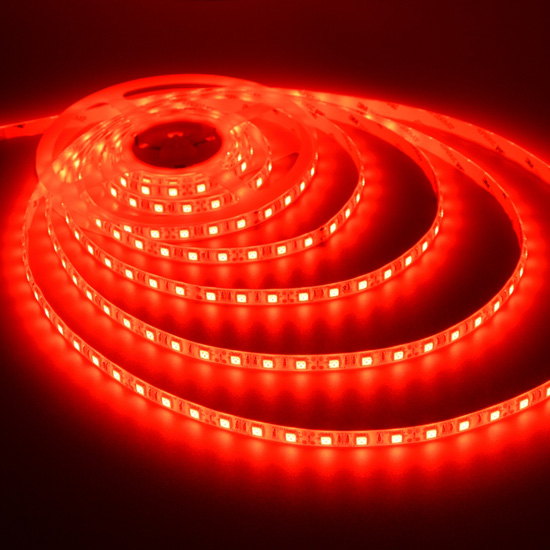 Outdoor Red Flexible Led Light Strip 12volt Tape High Quality 5050 Waterproof