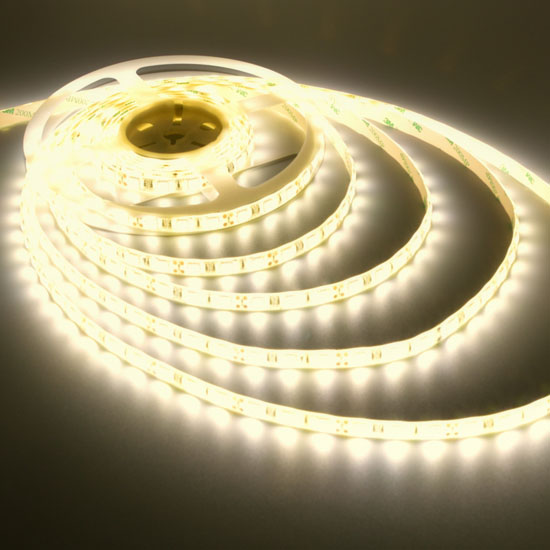 Warm White Led Strip 12volt Tape Light Bright Outdoor