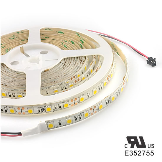 Outdoor 12 Volt 60leds Meter Led Strip Smd 5050 Rgb: Warm White LED Strip Light