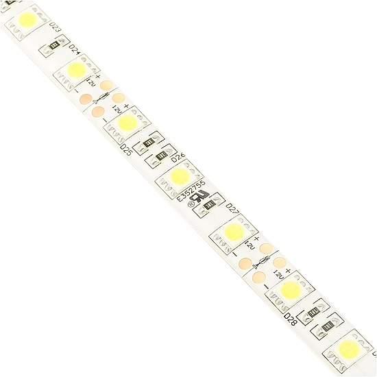 Outdoor Warm White Flexible LED Light Strip - 12Volt LED Tape Light with 60LEDs/m - 5050 Waterproof LED Strip