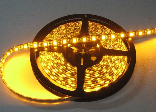 Yellow led strip light outdoor 5050 tape light bedroom decor idea outdoor yellow led light strips 12volt led ribbon lights bright 5050 waterproof led strip aloadofball