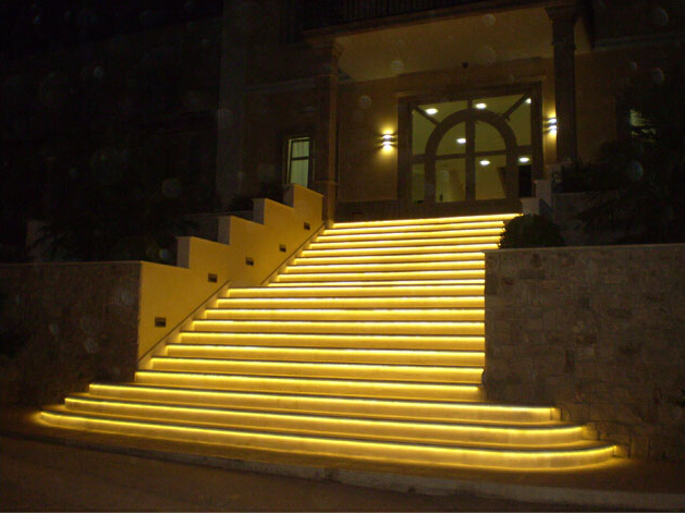Yellow led strip light outdoor 5050 tape light bedroom decor idea outdoor yellow led light strips 12volt led ribbon lights bright 5050 waterproof led strip aloadofball Image collections