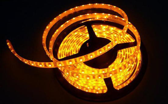 Yellow Led Strip Light Flexible Led Strips Waterproof