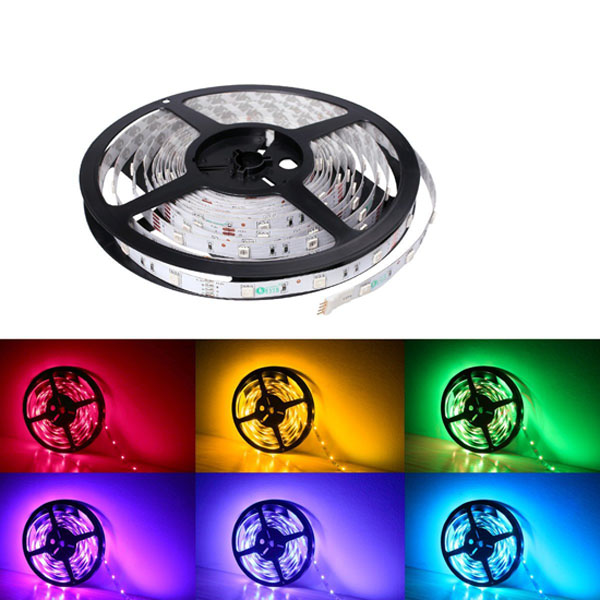 Rgb strip light for boat marine multi color lights color rgb led strip lights 12volt multi color led tape lights 5050 non waterproof led aloadofball Gallery