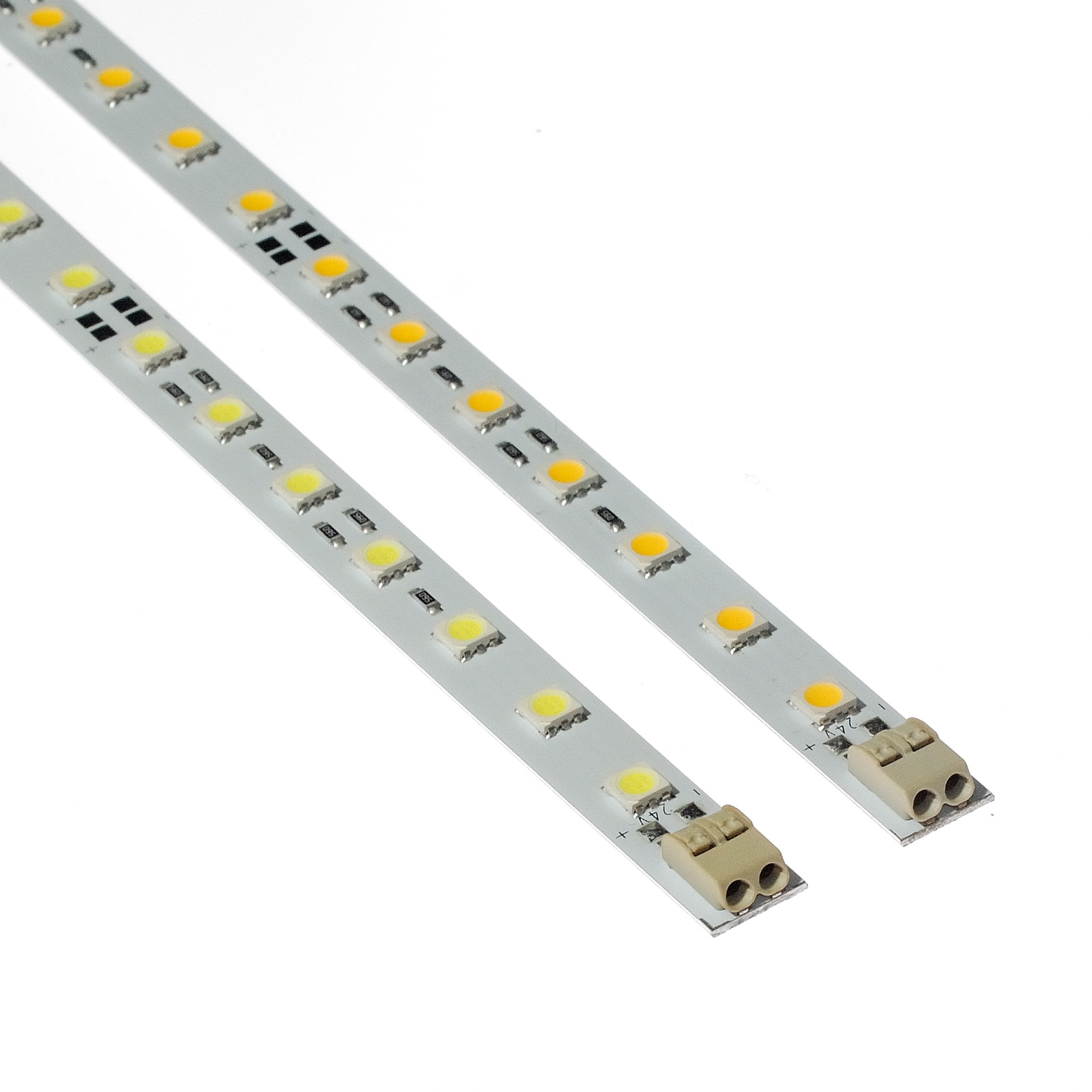 24vdc warm white rigid deco linear strip light bar