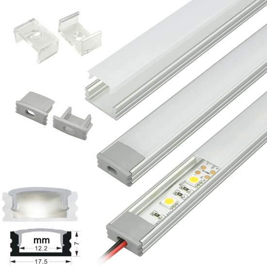 Led Strip Light Channel Aluminum Profile Strip Housing