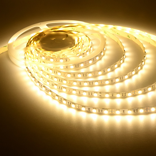 Warm white led strip 12volt tape light bright outdoor strip lights warm white flexible led light strip 12volt led tape light 5050 non waterproof led aloadofball Image collections