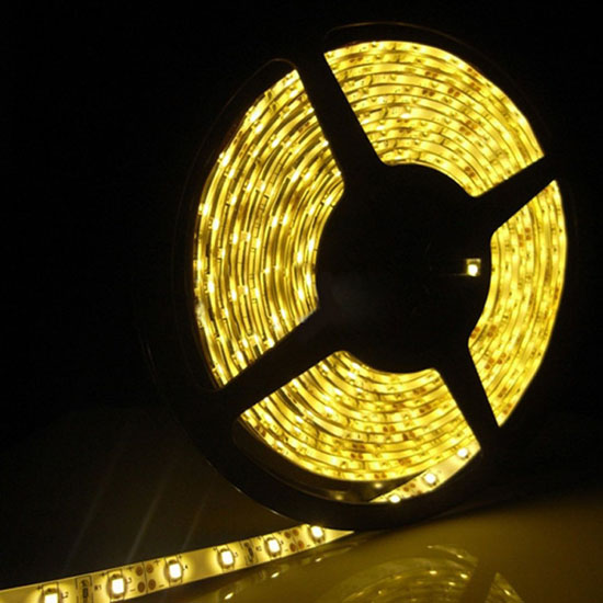 12volt Led Tape Light: Yellow LED Strip Light