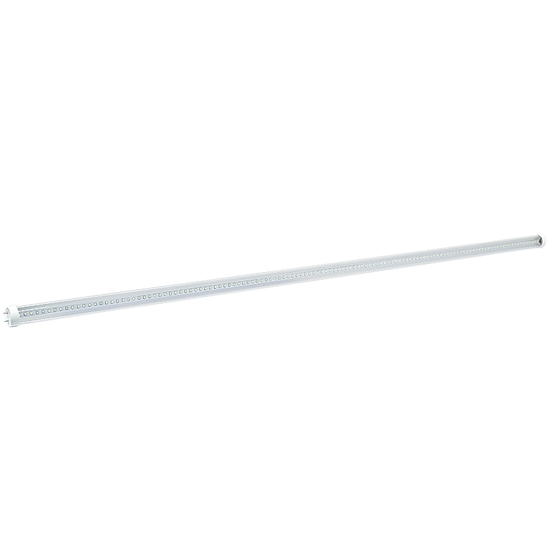 4-Foot T8 Ballast Compatible LED Tube Lights UL/DLC listed - Clear Cover 18Watt LED Fluorescent Replacement Light Bulb Pure White