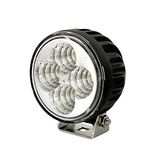 3 Inch 12W Round Epistar LED Work Light Bar Flood Beam - Waterproof Offroad Driving Car Boat SUV Truck Lamp