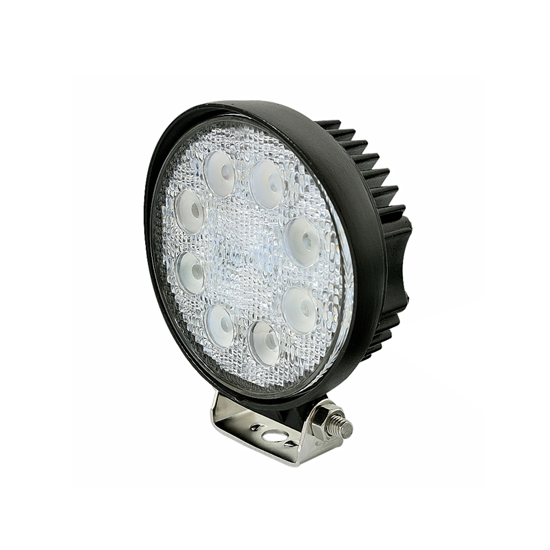 4 Inch 24W Round Epistar LED Work Light Bar Flood Beam - Offroad Driving UTV Car 4x4 Truck Lamp Auxiliary Light