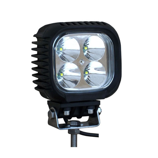 5 Inch 40W Square Cree LED Work Light Bar Spot Beam - Waterproof Offroad Driving Automotive 4WD Fog Car Lamp