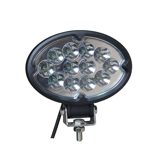 7Inch 36W Oval Cree LED Work Light Bar Spot Beam - Waterproof Offroad Driving Marine Tractor Truck ATV Lamp