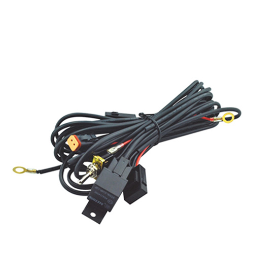 LED Light Wiring Harness Kit - Single Channel DT Connector for LED Work Light Bars