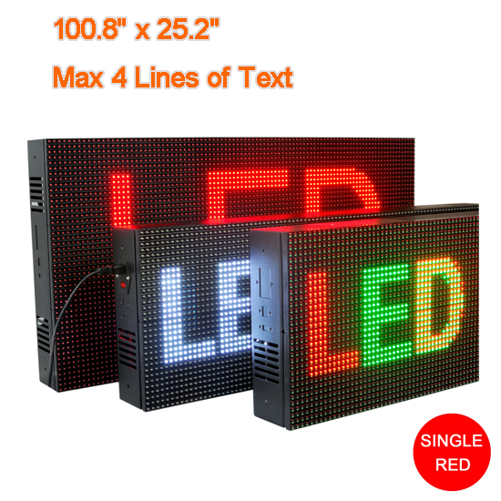 Red Led Display Sign Indoor Electronic Boards