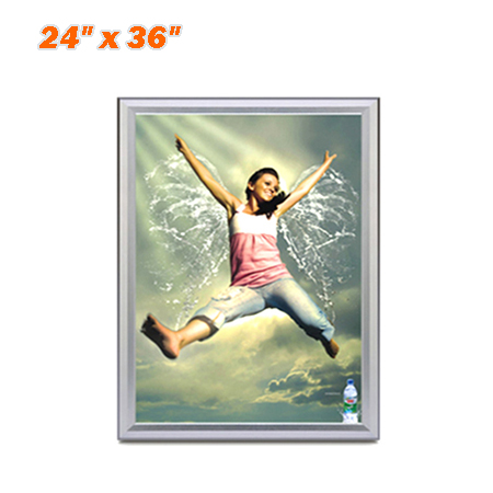 "Slim Snap Frame LED Light Box 24 x 36"" - Movie Poster Frames Advertising Light Box"