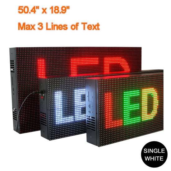 White Display Sign Indoor Electronic Boards